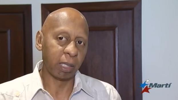 Guillermo Fariñas during the Cuban National Meeting in Puerto Rico. (Martí Noticias)