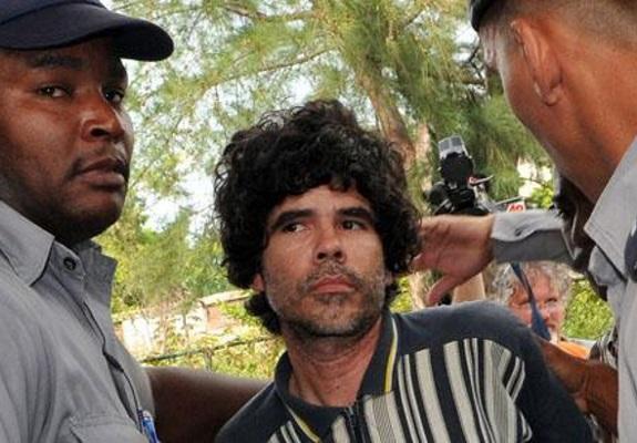 Gorki during a prior arrest in August 2008