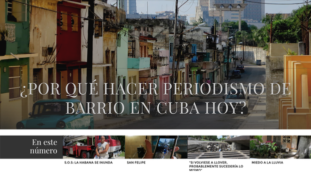 "Homepage of ""Neighborhood Journalism."" Headline: Why do Neighborhood Journalism in Cuba today?"
