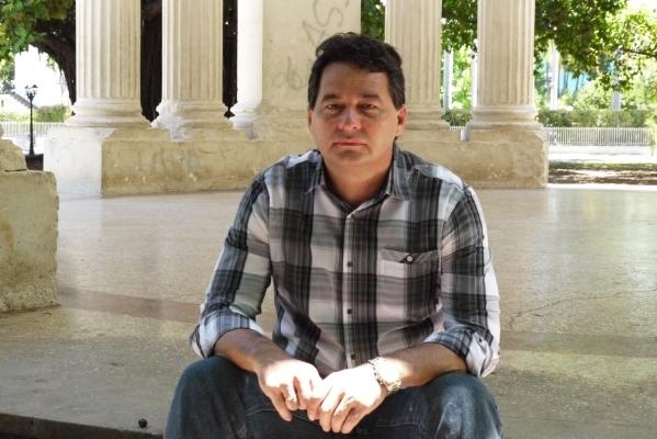 The writer Angel Santiesteban Prats (photo: Jorge Angel Perez)