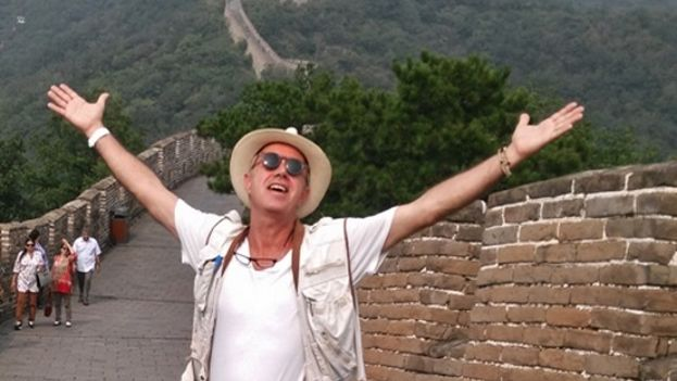 Juan Carlos Cremata in Mu Tian Yu the Great Wall of China, 2015. (Courtesy of the author)