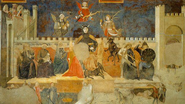 Allegory of Bad Government. (Ambrosio Pietro Lorenzetti)
