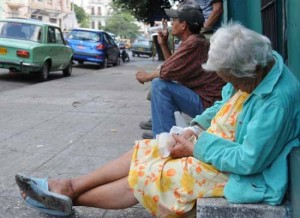 Photo: The elderly are among the most vulnerable people in Cuba (File Photo)