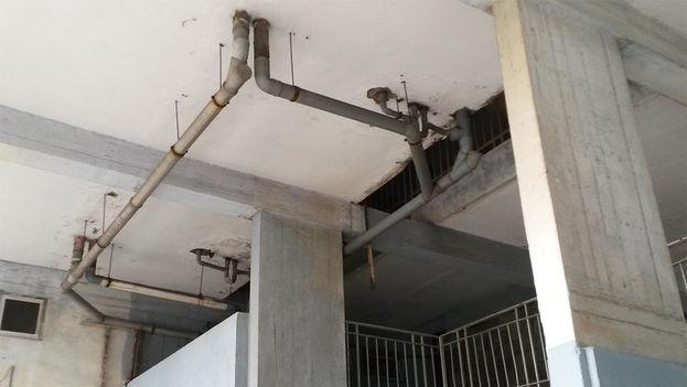 New plumbing installations. (14ymedio)