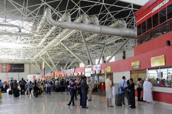 Terminal 3 of José Martí Airport in Havana (photo taken from Internet)