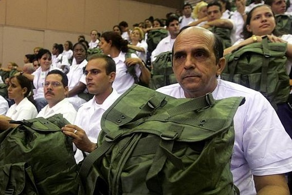 About 35 thousand Cubans 'collaborate' in Venezuela (photo taken from Internet)
