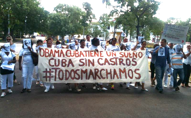 Obama Cuba Has a Dream: Cuba Without Castros. We All March.