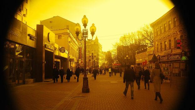 Arbat Street in Moscow. (Flickr)