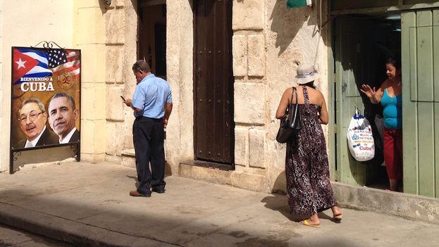 Havana is preparing to welcome US president Barack Obama. (14ymedio)