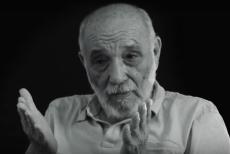 Rafael Alcides (Screen shot from Miguel Coyula's video interview)