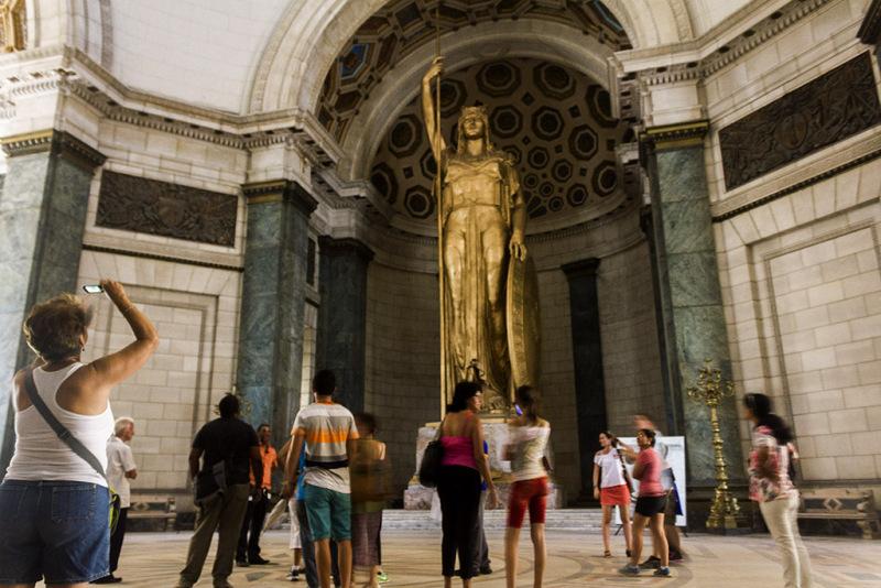 Inside Havana's newly restores Capitol building