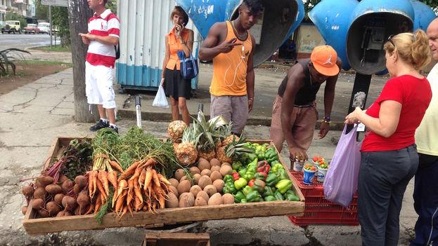 Street vendor in Havana (14ymedio)