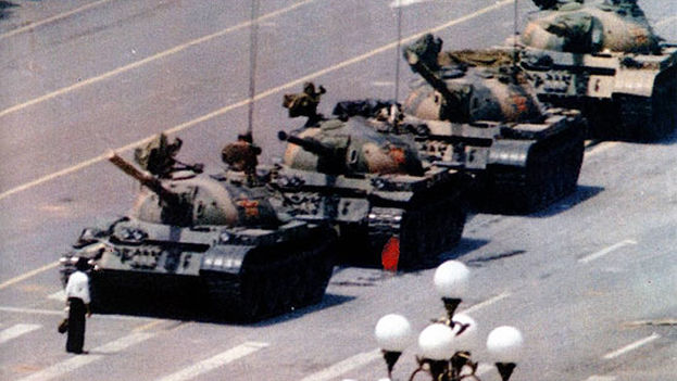 Tiananmen Square in China was the scene of protests calling for more openness in 1989