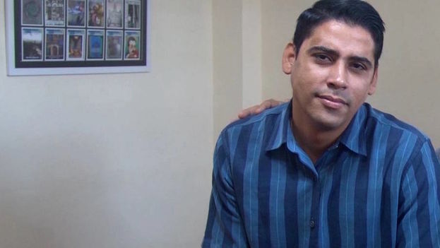 The UNPACU) youth leader, Amel Carlos Oliva. (Center for Coexistence Studies)