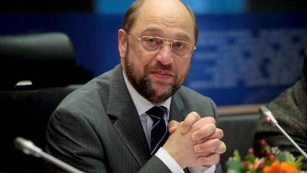 Martin Schulz, president of the European Parliament since 2014