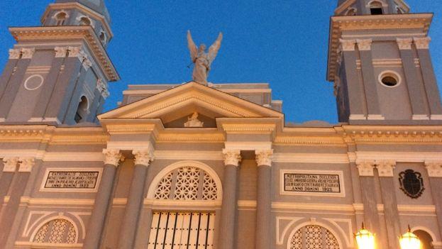 The newly restored Cathedral of Santiago de Cuba. (D. Deloy)