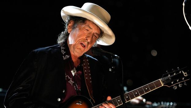 Bob Dylan won the Nobel Literature Prize in 2016 for creating a new poetic expression within the great tradition of American song. (EFE)
