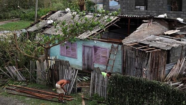 Outskirts of Baracoa after Hurricane Matthew. (EFE)