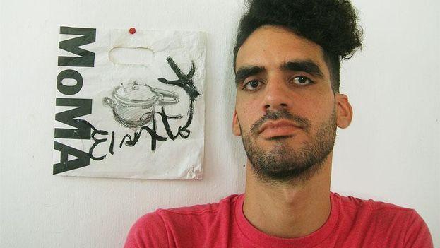 Danilo Maldonado, known as El Sexto (The Sixth). (Artist File)